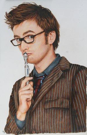 David Tennant Doctor_who___david_tennant_by_jennicat5